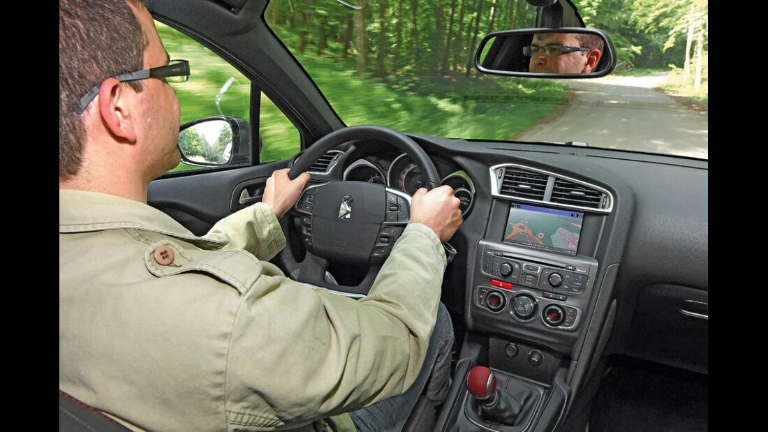 Citroen DS4 Hdi, Innenraum