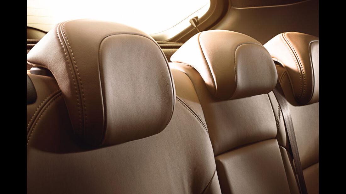 Citroen DS4, Innenraum, Kopfstützen, Sitze