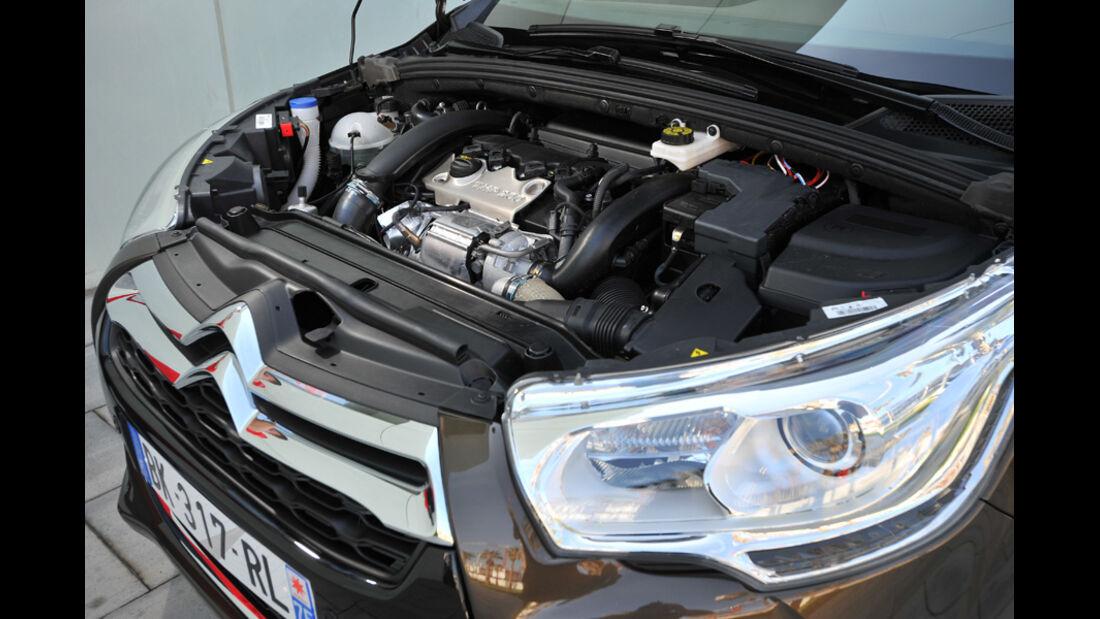 Citroen DS4, Motor, Motorraum