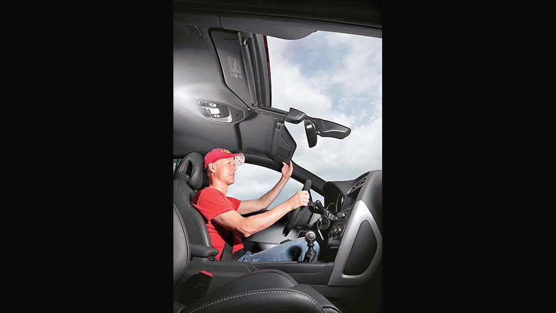 Citroen DS4, Panorama-Frontscheibe