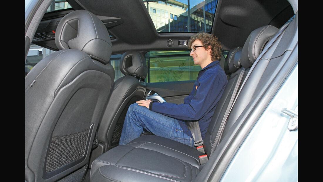 Citroen DS5 Hdi 165, Rücksitz, Rückbank