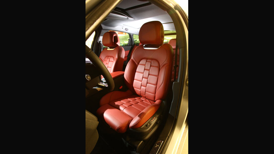 Citroen DS5 THP 200, Sitze