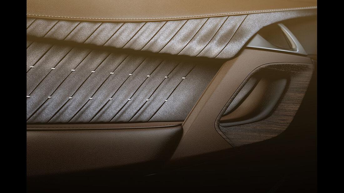 Citroen DS5, Türverkleidung