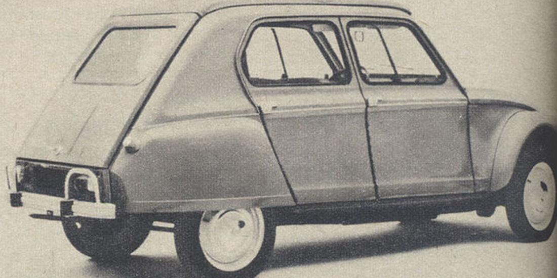 Citroen, Dyane, IAA 1967