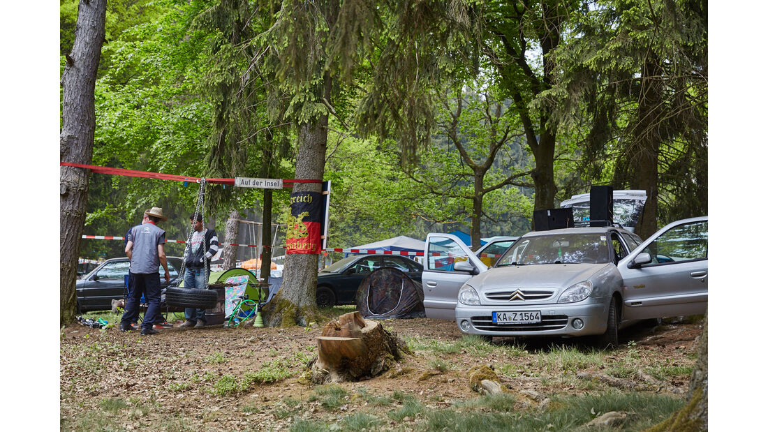 Citroen - Fan-Autos - 24h-Rennen Nürburgring 2015 - 14.5.2015
