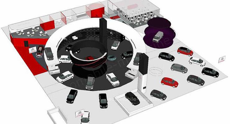Citroen IAA Messe Stand