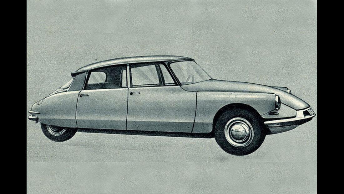 Citroen, ID 19, IAA 1959
