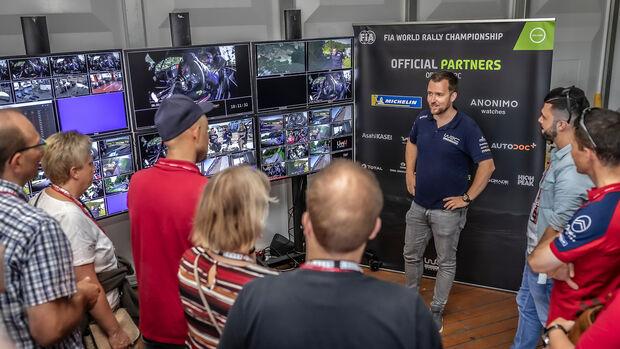 Citroen Leser Test Drive, WRC-TV-Übertragung