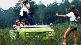 Citroen Mehari Impressionen Girls 70er