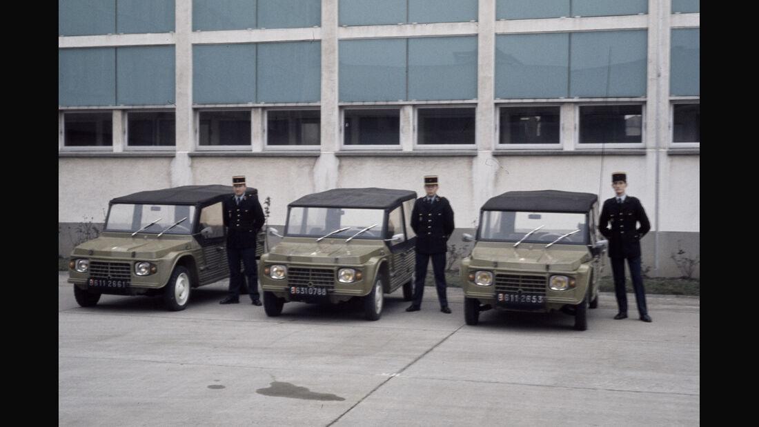 Citroen Mehari Polizei