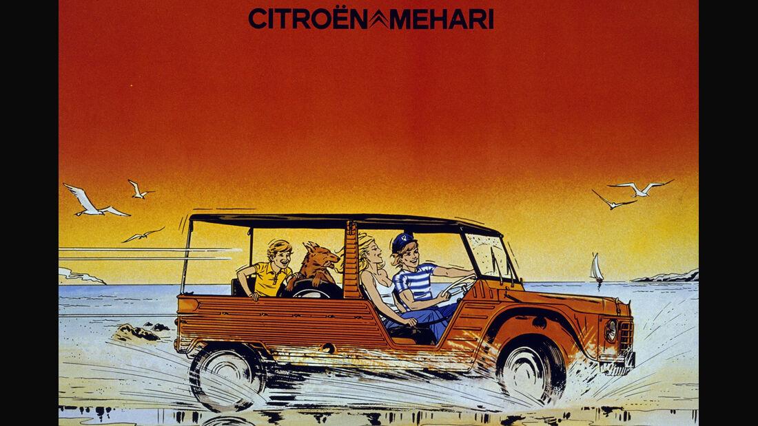 Citroen Mehari Werbung