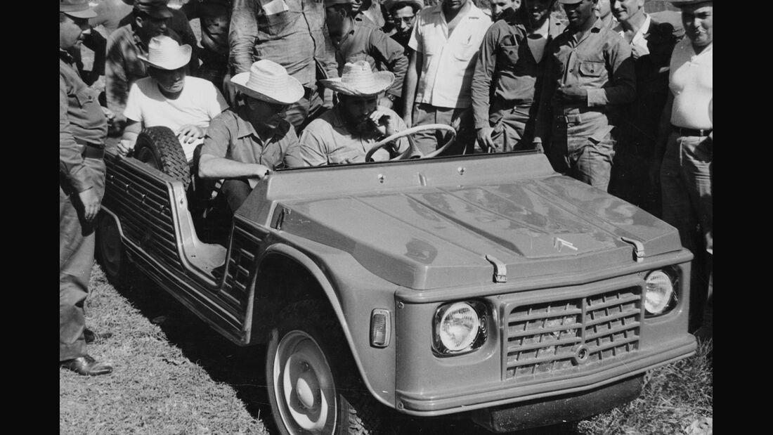 Citroen Mehari mit Che Guevara