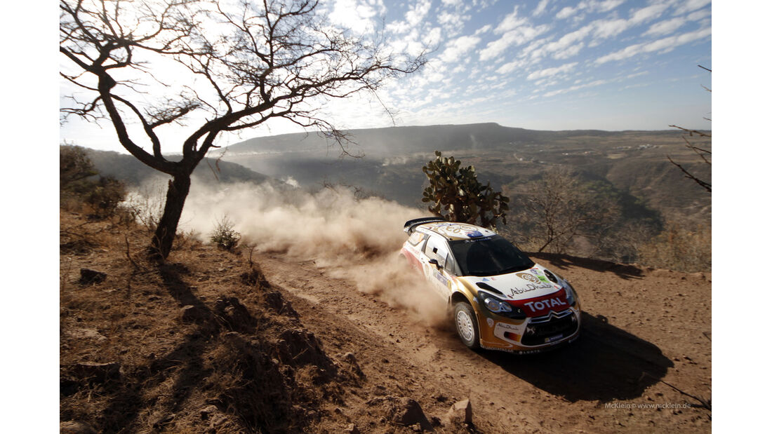 Citroen Rallye Mexiko 2013