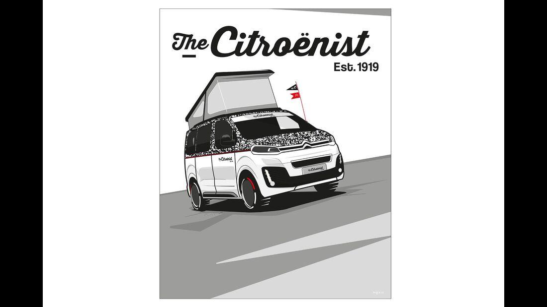 Citroen The Citroenist Concept Spacetourer (2019)