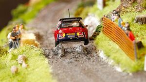 Citroen WRC Diorama Sebastien Loeb