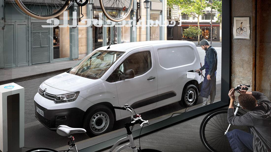 Citroen e-Berlingo, Elektro-Kastenwagen