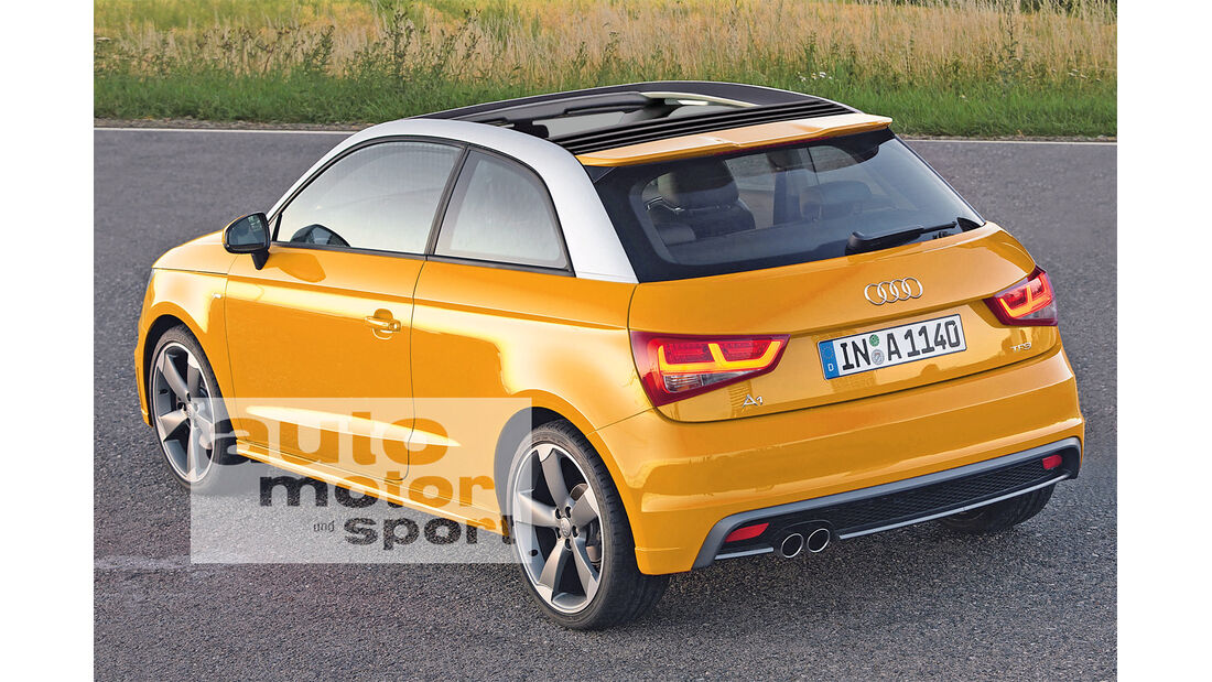 City-Klasse, Audi A1 Topcabrio