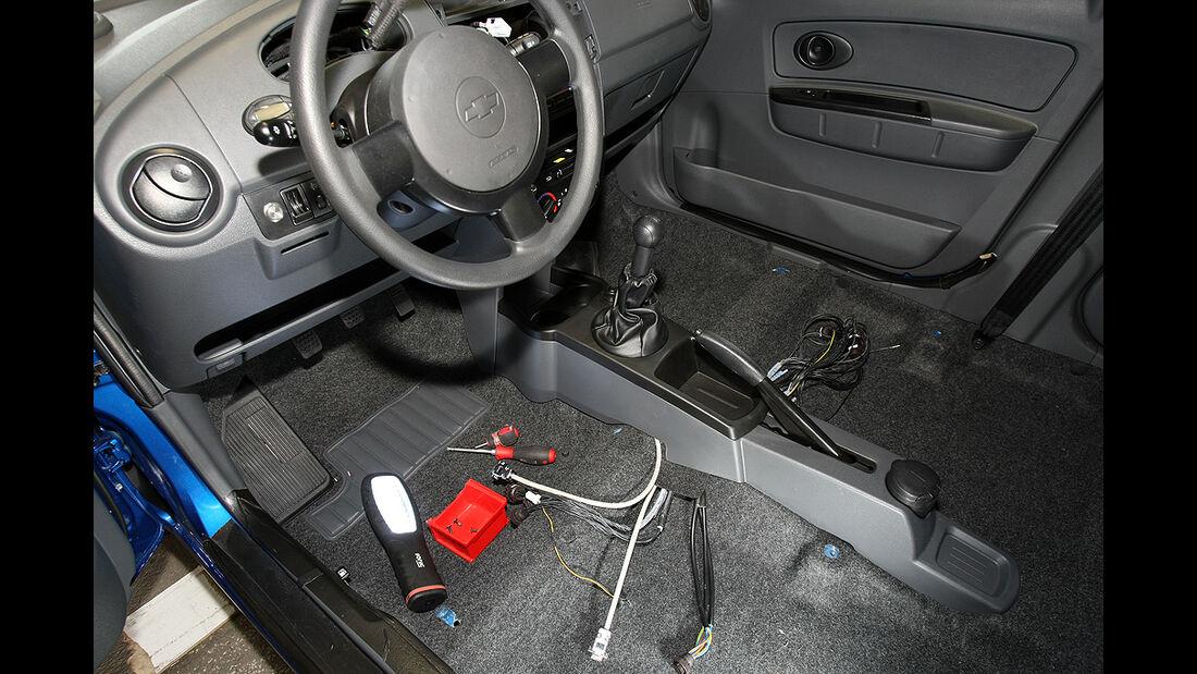 Citysax Elektroauto, E-Auto, Cockpit