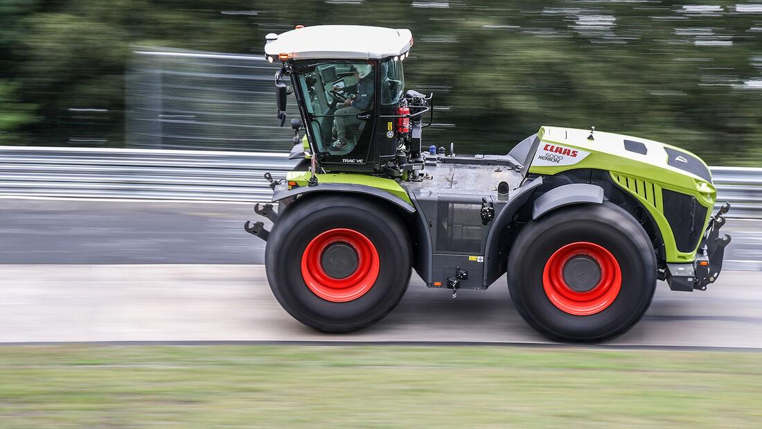 Claas Xerion 5000 Traktor Nordschleife Menzel