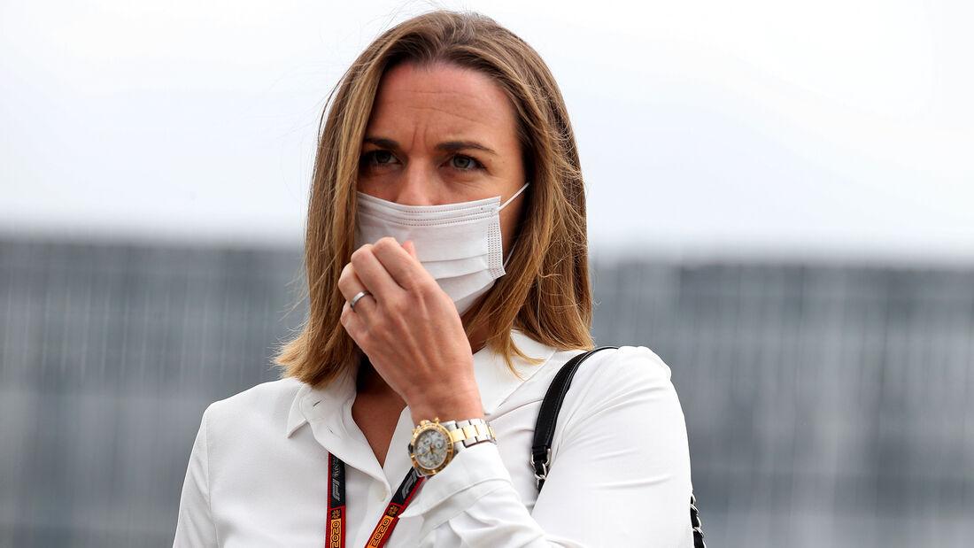 Claire Williams - 70 Jahre F1 GP - Silverstone - Formel 1 - 6. August 2020