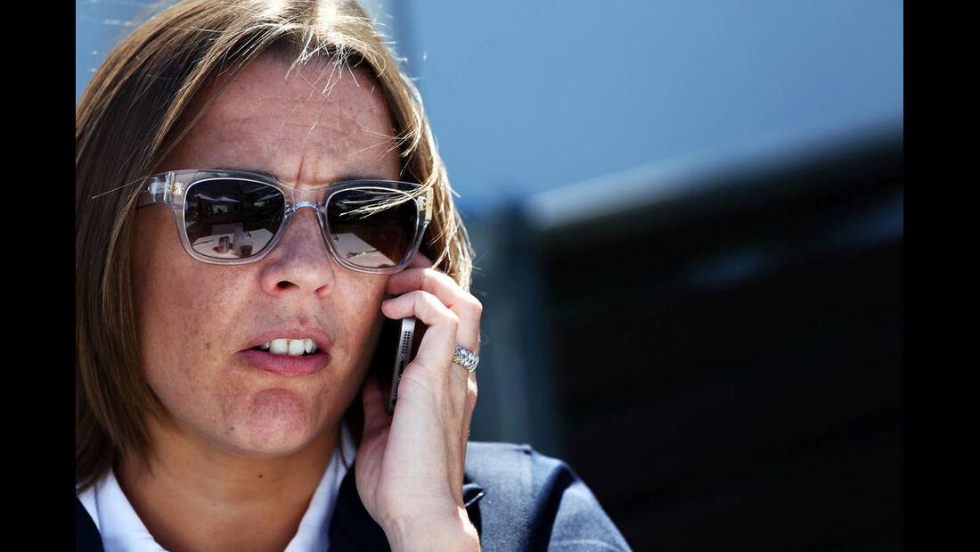 Claire Williams - Formel 1 - GP Australien - 13. März 2014