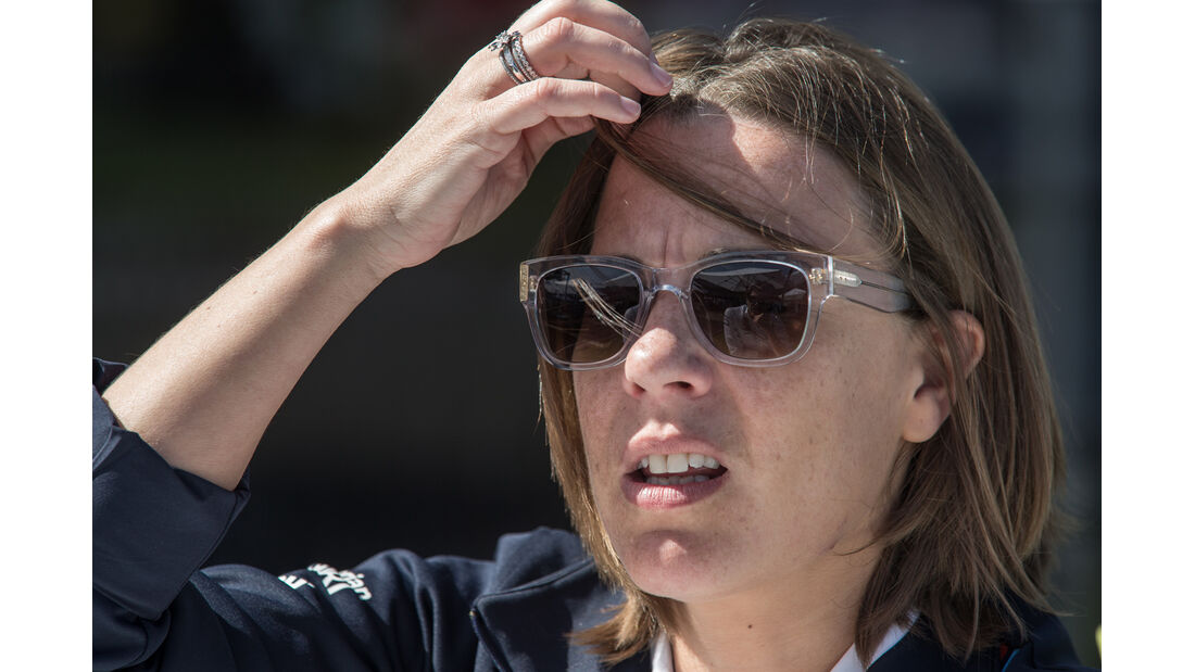Claire Williams - Formel 1 - GP Australien 2014 - Danis Bilderkiste