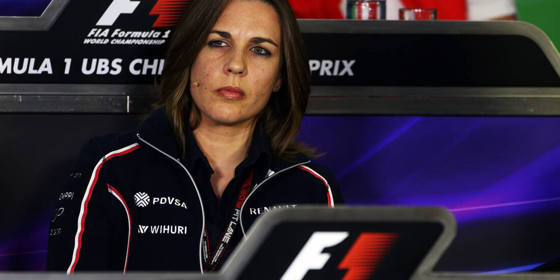 Claire Williams - Formel 1 - GP China -12. April 2013
