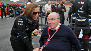 Claire Williams - Frank Williams - Formel 1 - GP England 2019