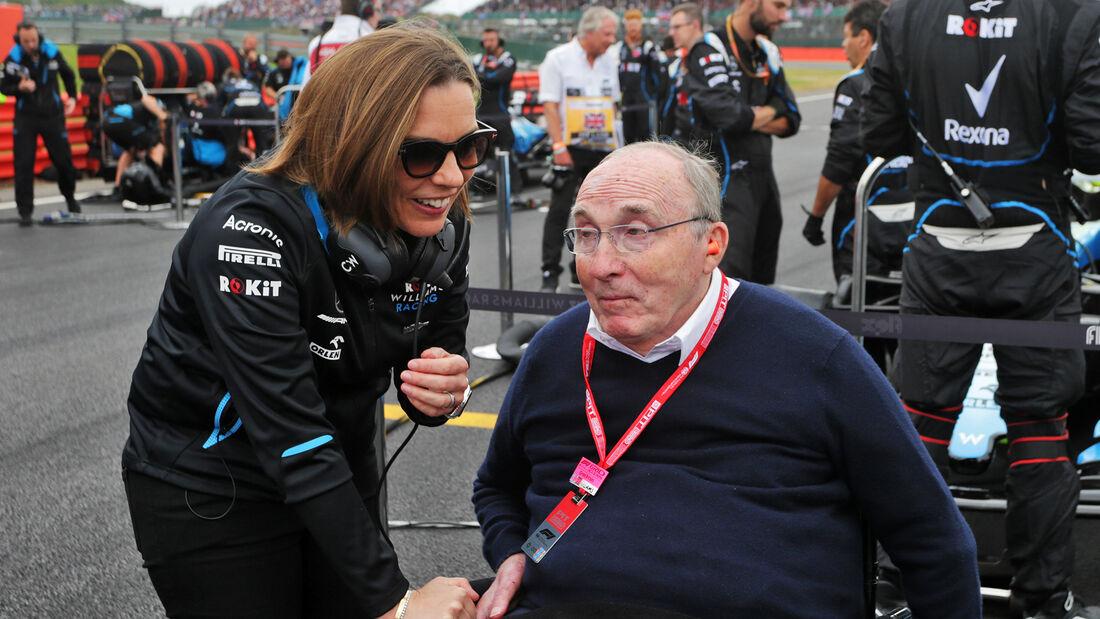Claire Williams - Frank Williams - GP England 2019 - Silverstone