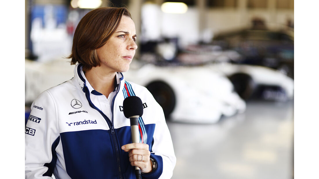 Claire Williams - Williams-Jubiläum - Silverstone - 2017