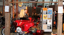 Classic Days Schloss Dyck, Harley-Davidson Stand