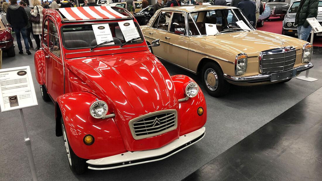 Classic Expo Salzburg (2021) Fahrzeugmarkt