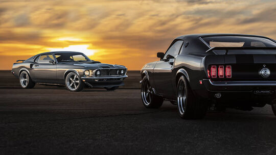 Classic Recreations Mustang Mach 1 Hitman