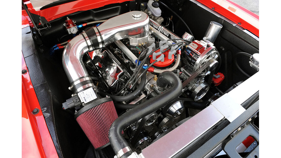 Classic Recreations Shelby GT500CR - V8-Motor