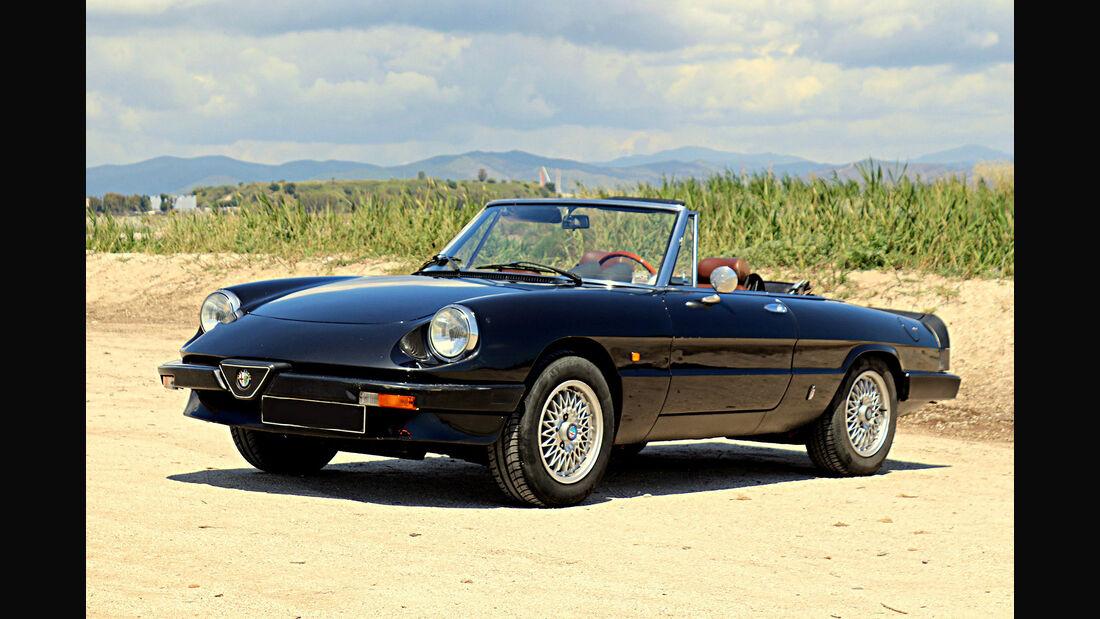 Classic Trader Top 15 Platz 13 Alfa Romeo Spider