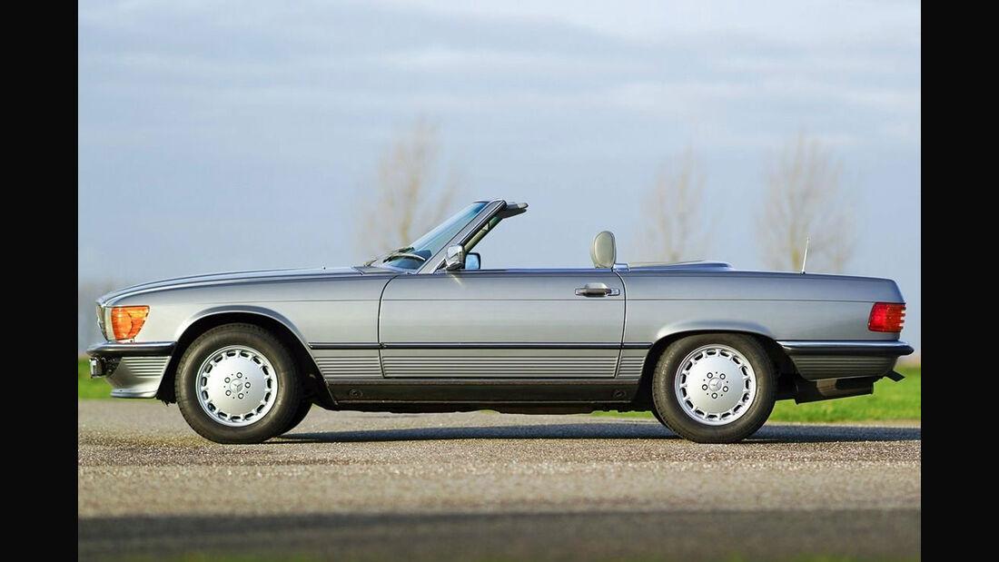 Classic Trader Top 15 Platz 2 Mercedes SL R 107