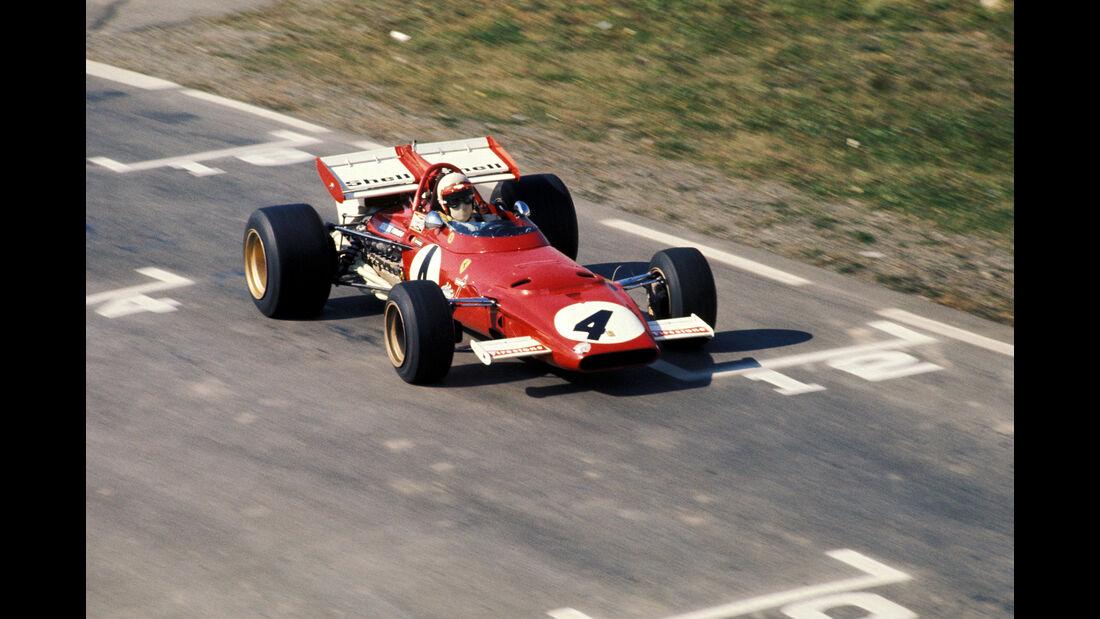 Clay Regazzoni - Ferrari 312B - GP USA 1970 - Watkins Glen
