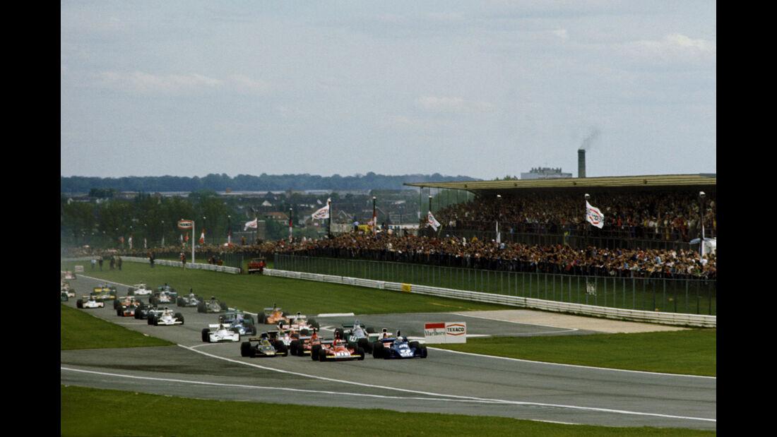 Clay Regazzoni - Ferrari 312B3 - Jody Scheckter - Tyrrell 007 - GP Belgien 1974 - Nivelles