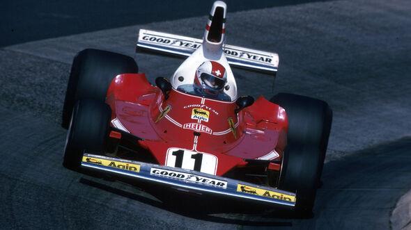Clay Regazzoni - Ferrari 312T - GP Deutschland 1975 - Nürburgring