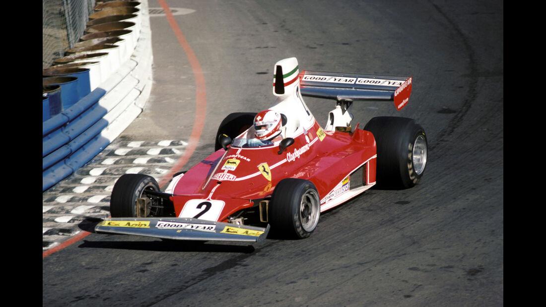 Clay Regazzoni - Ferrari 312T - GP USA West 1976