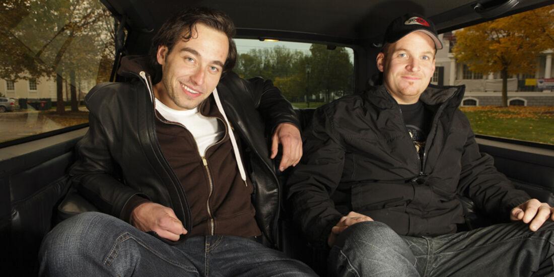 Clemens Berndor und Peter Mery