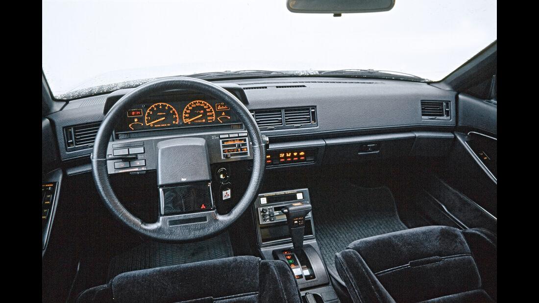 Cockpit 80er Mitsubishi Sapporo
