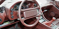 Cockpit 80er Porsche 928