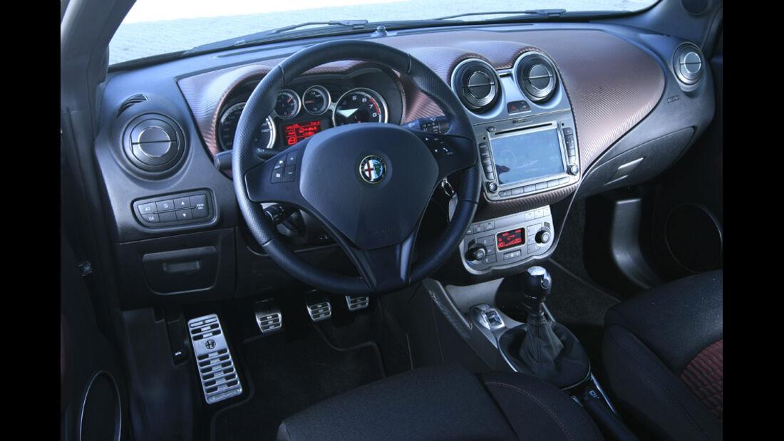 Cockpit, Alfa Romeo Mito Quadrifoglio Verde