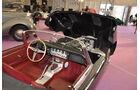 Cockpit Jaguar E-Type, Autos der Coys-Auktion auf dem AvD Oldtimer Grand-Prix 2010