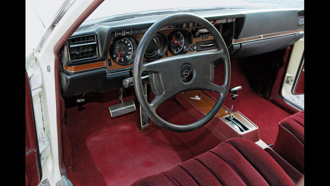 Cockpit, Opel Diplomat B V8, Baujahr 1977