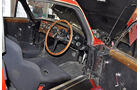 Cockpit des Aston Martin DB2/4, Auto der Coys-Auktion auf dem AvD Oldtimer Grand-Prix 2010