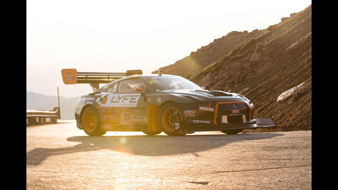 Cole Powleson - 2010 Nissan GT-R - Pikes Peak International Hillclimb 2016