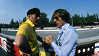 Colin Chapman - Bernie Ecclestone - GP Italien 1978