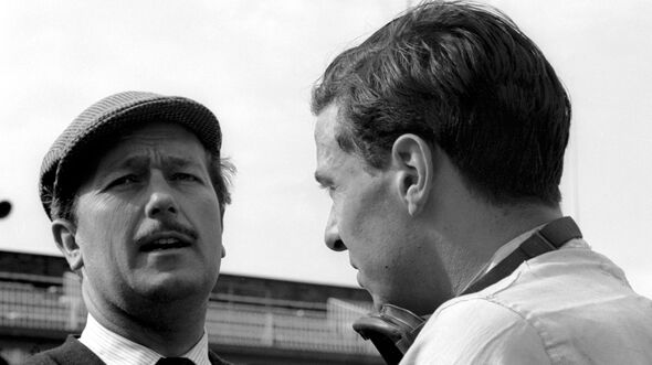 Colin Chapman - Jim Clark - Lotus - GP England 1962 - Aintree
